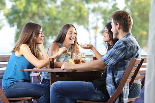 hot weather impacts dining
