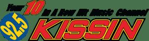 Kissin 92.5 logo