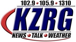 News Talk KZRG logo