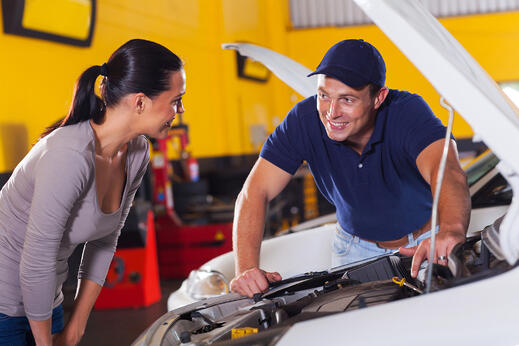 marketing to women auto repair