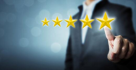 online reviews for law firms
