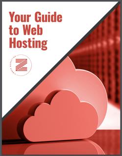 web site hosting book cover